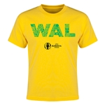 Wales Euro 2016 Elements Youth T-Shirt (Yellow)