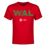 Wales Euro 2016 Elements Youth T-Shirt (Red)
