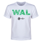 Wales Euro 2016 Elements Youth T-Shirt (White)