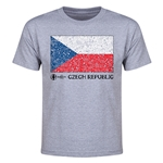 Czech Republic Euro 2016 Elemental Flag Youth T-Shirt (Grey)