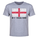 England Euro 2016 Elemental Flag Youth T-Shirt (Grey)