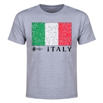 Italy Euro 2016 Elemental Flag Youth T-Shirt (Grey)