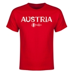 Austria Euro 2016 Youth T-Shirt (Red)