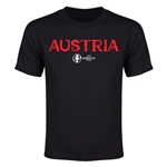 Austria Euro 2016 Youth T-Shirt (Black)