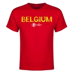 Belgium Euro 2016 Youth T-Shirt (Red)