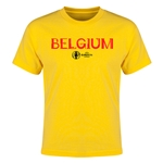 Belgium Euro 2016 Youth T-Shirt (Yellow)