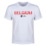 Belgium Euro 2016 Youth T-Shirt (White)