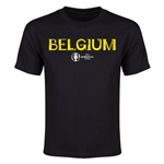 Belgium Euro 2016 Youth T-Shirt (Black)