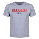 Belgium Euro 2016 Youth T-Shirt (Gray)