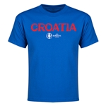 Croatia Euro 2016 Youth T-Shirt (Royal)