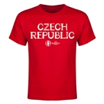 Czech Republic Euro 2016 Youth T-Shirt (Red)