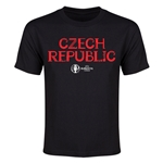 Czech Republic Euro 2016 Youth T-Shirt (Black)