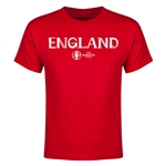 England Euro 2016 Youth T-Shirt (Red)