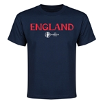England Euro 2016 Youth T-Shirt (Navy)