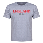 England Euro 2016 Youth T-Shirt (Gray)