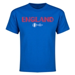 England Euro 2016 Youth T-Shirt (Royal)