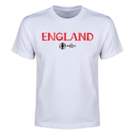 England Euro 2016 Youth T-Shirt (White)