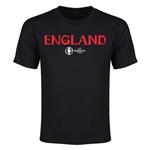 England Euro 2016 Youth T-Shirt (Black)
