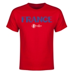 France Euro 2016 Youth T-Shirt (Red)