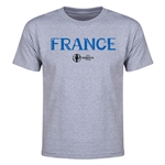 France Euro 2016 Youth T-Shirt (Gray)