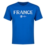 France Euro 2016 Youth T-Shirt (Royal)