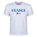 France Euro 2016 Youth T-Shirt (White)