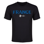 France Euro 2016 Youth T-Shirt (Black)