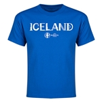 Iceland Euro 2016 Youth T-Shirt (Royal)