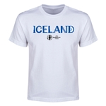 Iceland Euro 2016 Youth T-Shirt (White)