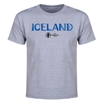 Iceland Euro 2016 Youth T-Shirt (Gray)