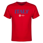 Italy Euro 2016 Youth T-Shirt (Red)