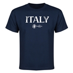 Italy Euro 2016 Youth T-Shirt (Navy)