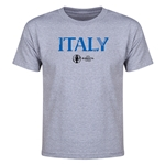 Italy Euro 2016 Youth T-Shirt (Gray)