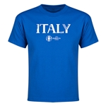 Italy Euro 2016 Youth T-Shirt (Royal)
