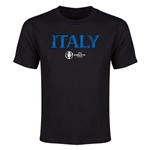 Italy Euro 2016 Youth T-Shirt (Black)
