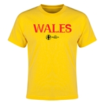 Wales Euro 2016 Youth T-Shirt (Yellow)