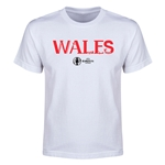 Wales Euro 2016 Youth T-Shirt (White)
