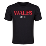 Wales Euro 2016 Youth T-Shirt (Black)