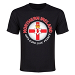 Northern Ireland Euro 2016 Youth T-Shirt (Black)