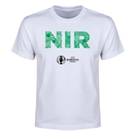 Northern Ireland Euro 2016 Elements Youth T-Shirt (White)
