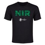 Northern Ireland Euro 2016 Elements Youth T-Shirt (Black)
