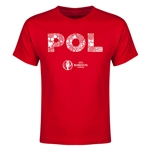 Poland Euro 2016 Elements Youth T-Shirt (Red)