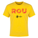 Romania Euro 2016 Elements Youth T-Shirt (Yellow)
