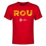 Romania Euro 2016 Elements Youth T-Shirt (Red)
