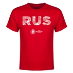 Russia Euro 2016 Elements Youth T-Shirt (Red)