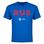Russia Euro 2016 Elements Youth T-Shirt (Royal)