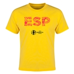 Spain Euro 2016 Elements Youth T-Shirt (Yellow)