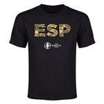 Spain Euro 2016 Elements Youth T-Shirt (Black)