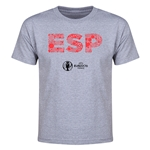 Spain Euro 2016 Elements Youth T-Shirt (Grey)