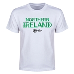 Northern Ireland Euro 2016 Youth T-Shirt (White)